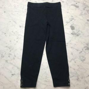Carter's Classic Black Ankle Button Leggings Pants